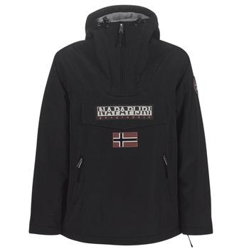 vaatteet Naiset Parkatakki Napapijri RAINFOREST POCKET Black