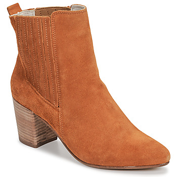 kengät Naiset Nilkkurit Bullboxer 348508E6CCARM Cognac