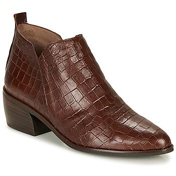 kengät Naiset Bootsit Wonders E6022-COCO-MARRON Brown