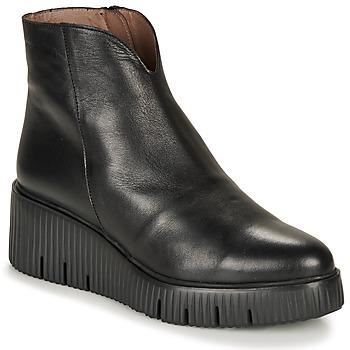 kengät Naiset Bootsit Wonders E6210-VELVET-NEGRO Black