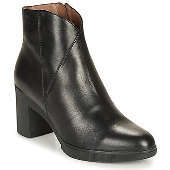 kengät Naiset Nilkkurit Wonders M3727-VELVET-NEGRO Black