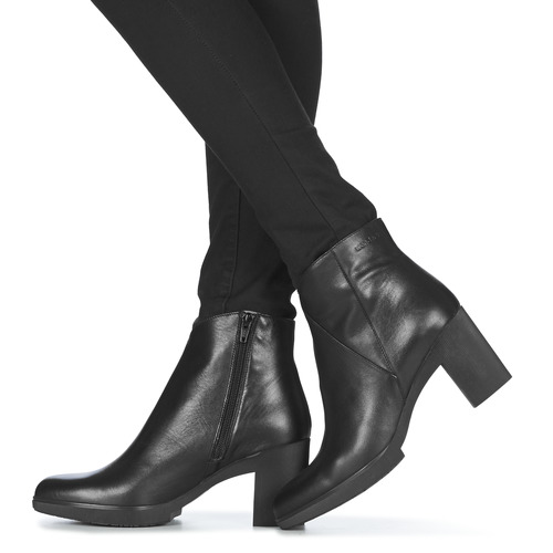 Wonders M3727-velvet-negro Black - Ilmainen Toimitus- Kengät Nilkkurit Naiset 110