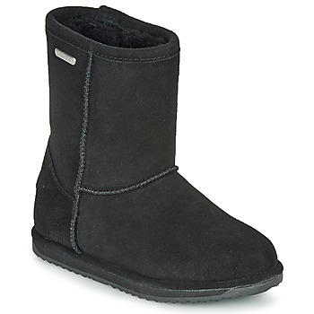 kengät Lapset Bootsit EMU BRUMBY LO WATERPROOF Musta