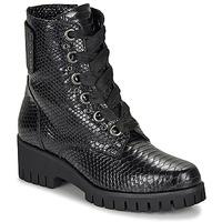 kengät Naiset Bootsit Sweet Lemon DASHA Black