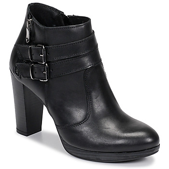 kengät Naiset Nilkkurit Sweet Lemon RACEKI Black