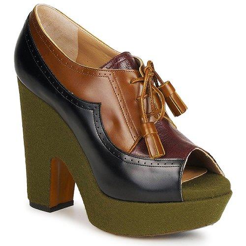 kengät Naiset Korkokengät Rochas SHEZAN Monivärinen