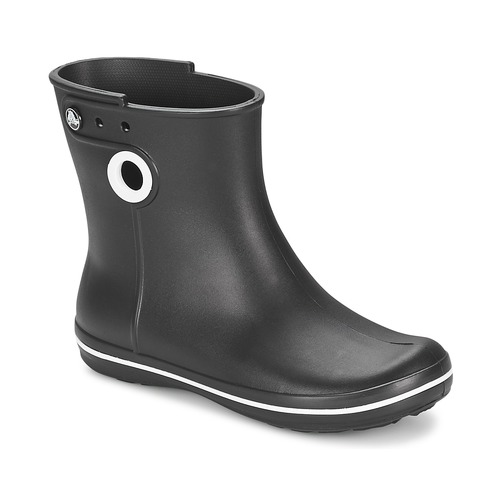 kengät Naiset Kumisaappaat Crocs JAUNT SHORTY BOOT W-BLACK Black