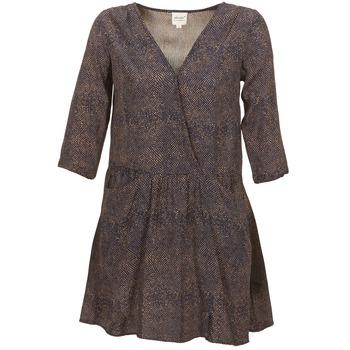 vaatteet Naiset Lyhyt mekko Petite Mendigote CELESTINE Laivastonsininen