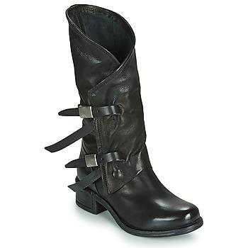kengät Naiset Saappaat Airstep / A.S.98 ISPERIA BUCKLE Black