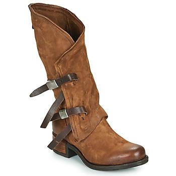 kengät Naiset Saappaat Airstep / A.S.98 ISPERIA BUCKLE Ruskea
