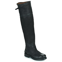 kengät Naiset Saappaat Airstep / A.S.98 BRET HIGH Black