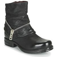 kengät Naiset Bootsit Airstep / A.S.98 SAINT EC ZIP NEW Musta