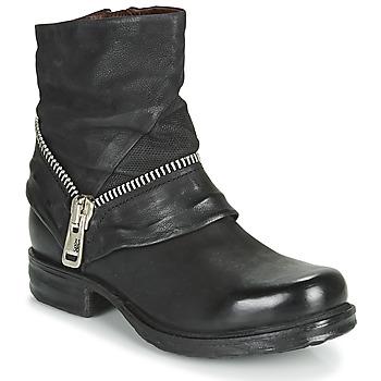 kengät Naiset Bootsit Airstep / A.S.98 SAINT EC ZIP NEW Black