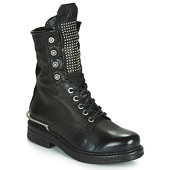 kengät Naiset Bootsit Airstep / A.S.98 BRET METAL Black