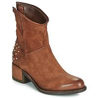 kengät Naiset Bootsit Airstep / A.S.98 OPEA STUDS Kamelinruskea