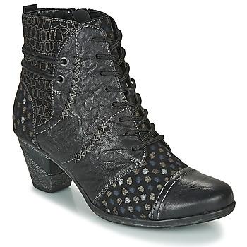 kengät Naiset Nilkkurit Remonte Dorndorf D8786-06 Black