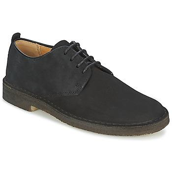 kengät Miehet Derby-kengät Clarks DESERT LONDON Black