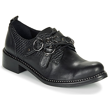 kengät Naiset Derby-kengät Regard ROABAX VA MAIA Black
