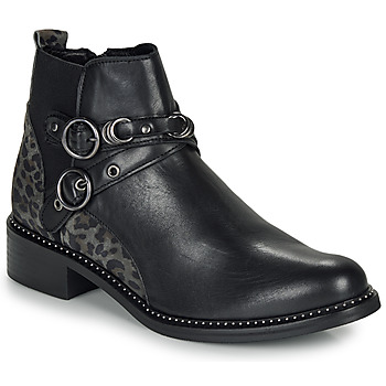 kengät Naiset Bootsit Regard ROABIL V2 METALCRIS Black
