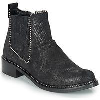 kengät Naiset Bootsit Regard ROAL V1 CROSTE SERPENTE PRETO Black