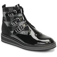 kengät Naiset Bootsit Regard ROCPOL V3 VERNIS Black