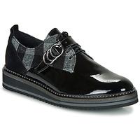 kengät Naiset Derby-kengät Regard ROCSI V3 VERNIS Black