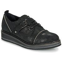 kengät Naiset Derby-kengät Regard ROCTALOX V2 TOUT SERPENTE SHABE Black