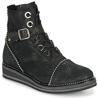 kengät Naiset Bootsit Regard ROCTALY V2 CRTE SERPENTE SHABE Black