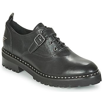 kengät Naiset Derby-kengät Philippe Morvan DAILY V1 MAIA Musta