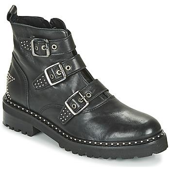 kengät Naiset Bootsit Philippe Morvan DRAFT V1 MAIA Musta
