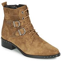 kengät Naiset Bootsit Philippe Morvan SWAG V4 CRTE VEL Kamelinruskea