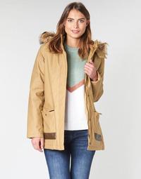 vaatteet Naiset Parkatakki Roxy TRAVELLING WEST Brown