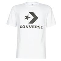 vaatteet Miehet Lyhythihainen t-paita Converse STAR CHEVRON White