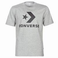vaatteet Miehet Lyhythihainen t-paita Converse STAR CHEVRON Harmaa