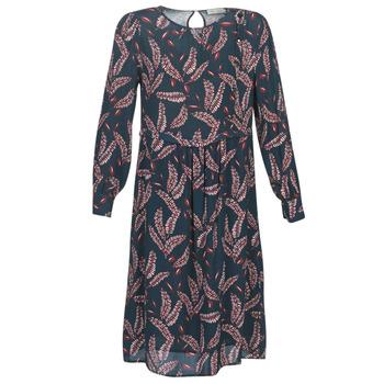 vaatteet Naiset Pitkä mekko See U Soon 9222127 Laivastonsininen / Bordeaux
