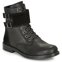 kengät Tytöt Bootsit Citrouille et Compagnie LOMENE Black