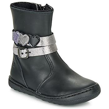 kengät Tytöt Bootsit Citrouille et Compagnie LOMINE Black