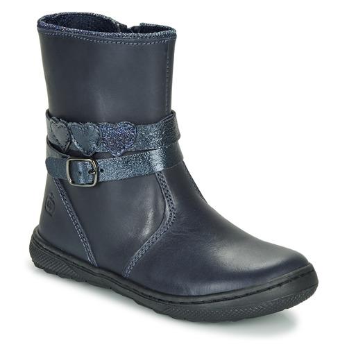 kengät Tytöt Bootsit Citrouille et Compagnie LOMINE Blue
