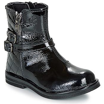 kengät Tytöt Bootsit Citrouille et Compagnie LIMIDOU Black