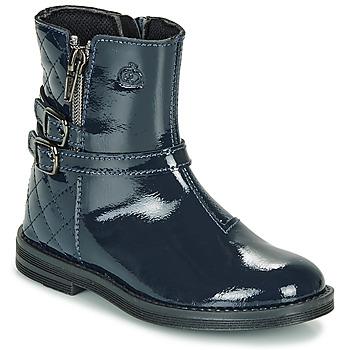 kengät Tytöt Bootsit Citrouille et Compagnie LIMIDOU Blue