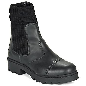 kengät Tytöt Bootsit Citrouille et Compagnie LOBINOUTE Black
