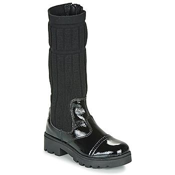 kengät Tytöt Saappaat Citrouille et Compagnie LAPADOU Black