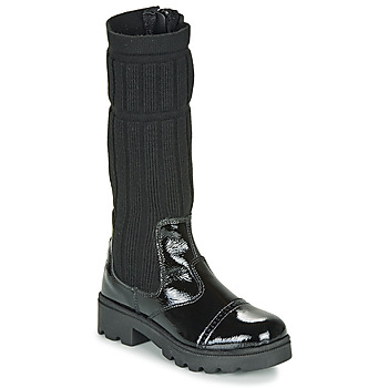 kengät Tytöt Saappaat Citrouille et Compagnie LAPADOU Musta