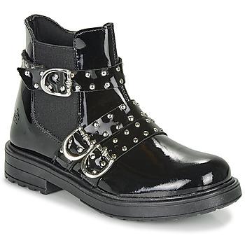 kengät Tytöt Bootsit Citrouille et Compagnie LIRONDEL Black