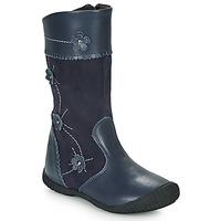 kengät Tytöt Saappaat Citrouille et Compagnie AMATIS Laivastonsininen