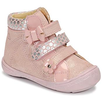 kengät Tytöt Bootsit Citrouille et Compagnie HODIL Pink