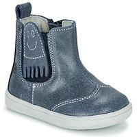 kengät Pojat Bootsit Citrouille et Compagnie LESKIMO Blue