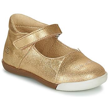 kengät Tytöt Balleriinat Citrouille et Compagnie LAKALA Kulta