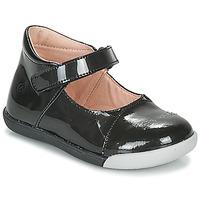 kengät Tytöt Balleriinat Citrouille et Compagnie LAKALA Musta
