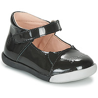 kengät Tytöt Balleriinat Citrouille et Compagnie LAKALA Black